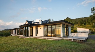 Architecture house windows