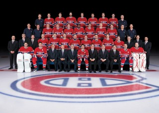 groupe portrait canadiens de montreal official picture hockey groupe image price