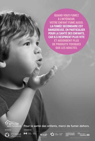 campagne de fumer sans fumer